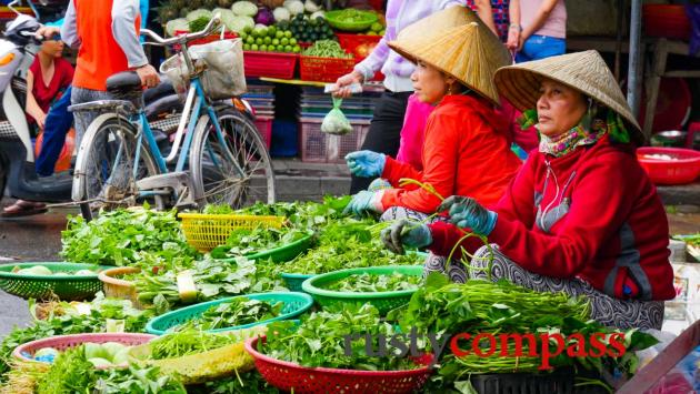 Farm to table - fresh herbs Hoi An