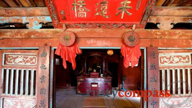 Taoist Temple Hoi An's Japanese Bridge.