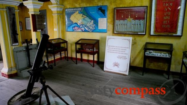 The Museum of Sa Huynh Culture includes an exhibit celebrating Hoi An's revolutionary history.