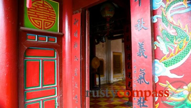 Hoi An's History and Cultural Museum is a great space - not a lot of information however.