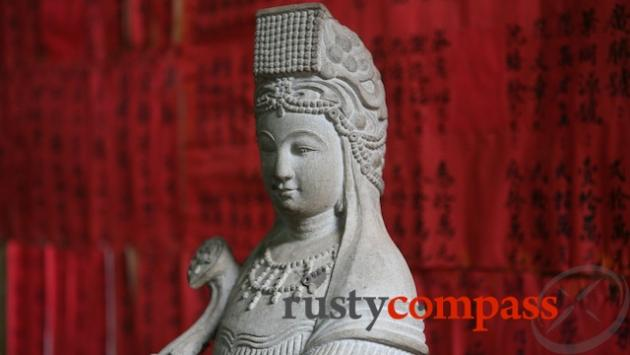Thien Hau, Goddess of the sea was revered by Chinese merchants