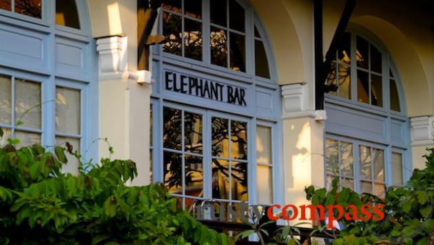 The Elephant Bar, Hotel Le Royal