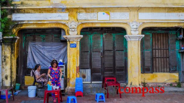 Chi Lang area of Hue, Vietnam's former royal capital