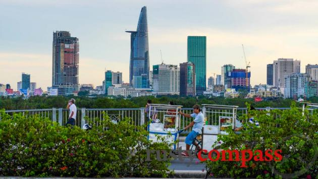 Reaching for the sky - Ho Chi Minh City