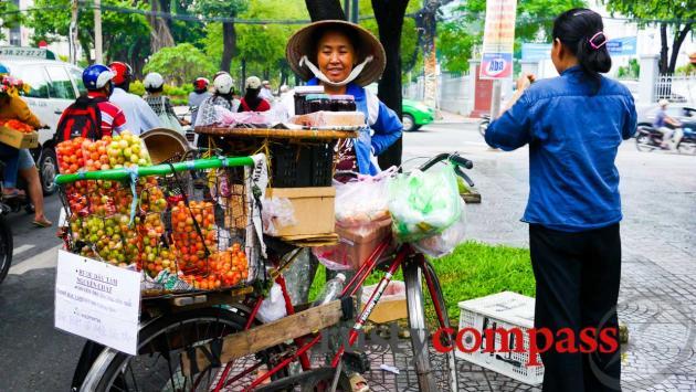 Street seller, Saigon