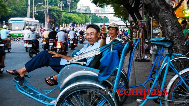 Only a small band of cyclo drivers have survived Saigon's modernisation drive.