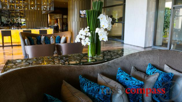 Intercontinental Hotel, Nha Trang - Lobby and bar area.