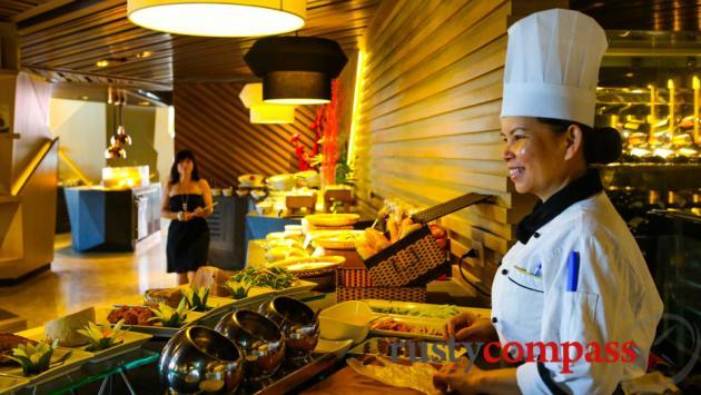 Intercontinental Hotel, Nha Trang - fantastic breakfast.