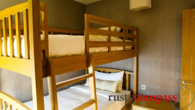 Intercontinental Hotel, Nha Trang - bunk bed in family suite
