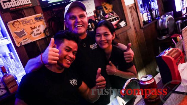 Jungle Burger Sports Bar, Siem Reap