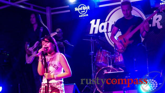 Hard Rock Cafe, King's Road, Siem Reap
