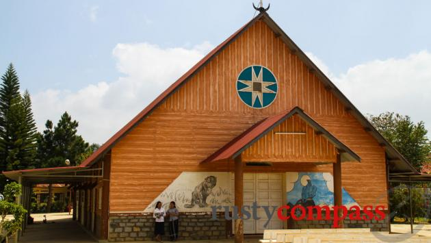 Ethnic Minority church near Lang Bian Mountain, Dalat