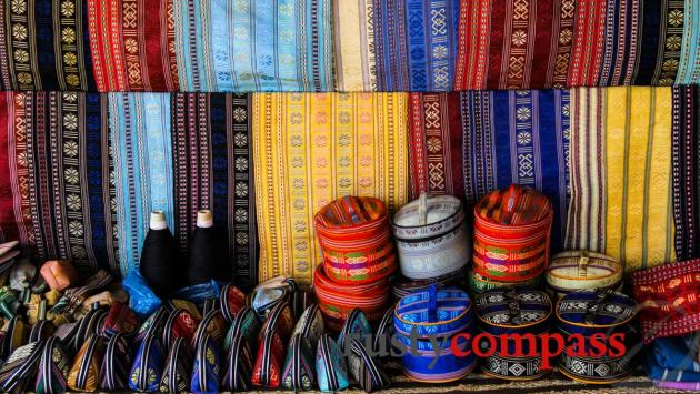 Ethnic fabric near Lang Bian Mountain, Dalat