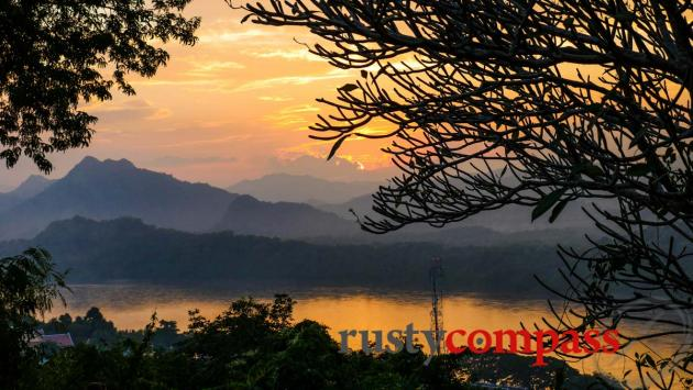 Mekong sunset, Luang Prabang