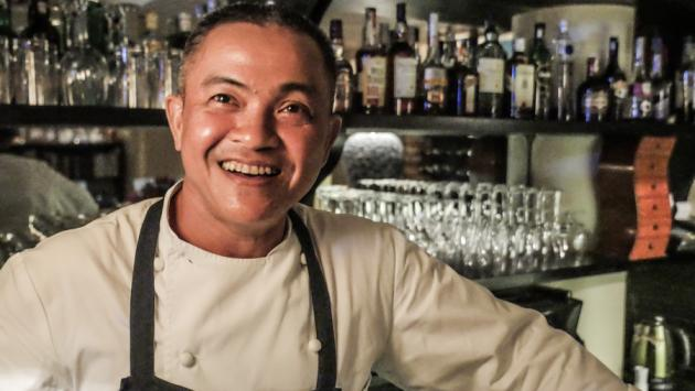 Mr Phuc, the chef - Le Bordeaux French Restaurant, Saigon