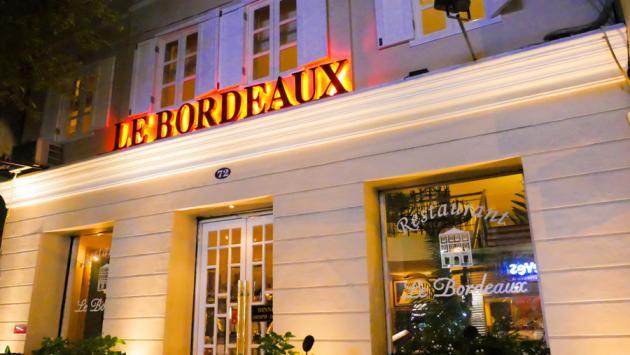 Le Bordeaux French Restaurant, Saigon