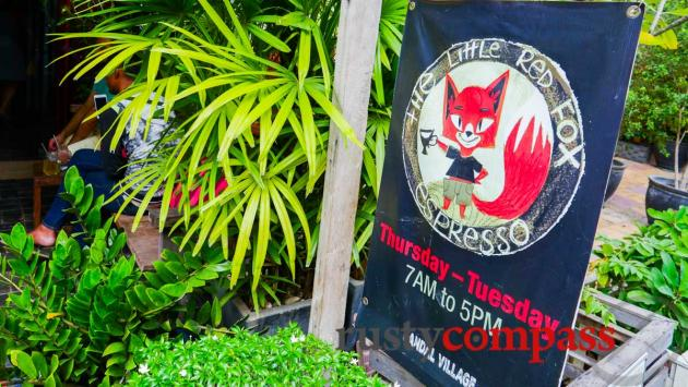 The Little Red Fox Espresso, Kandal Village, Siem Reap