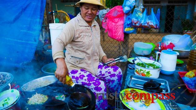 Banh Xeo stand, Ham Tien, Mui Ne