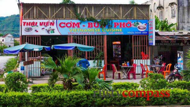 Local restaurants - Phong Nha