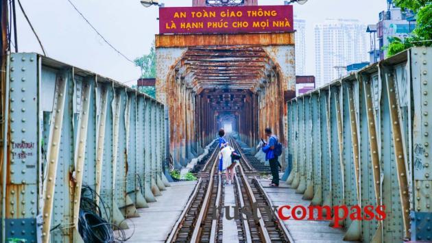 Long Bien Bridge - Hanoi