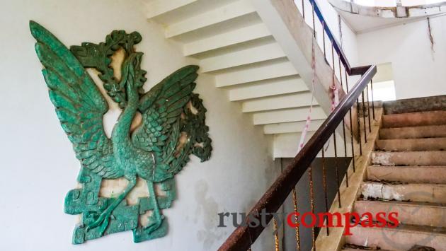 Hui Bon Hoa's ruined mansion, Long Hai