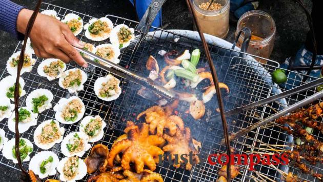 Seafood, Long Hai beach