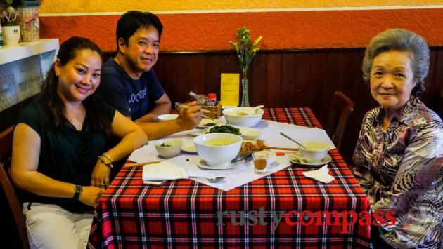 The family - Long Hoa Family Restaurant, Dalat