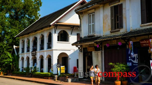 Luang Prabang French colonial architecture