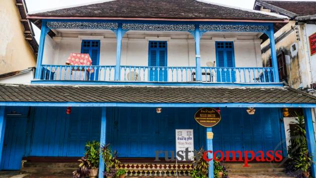 French colonial architecture, Luang Prabang