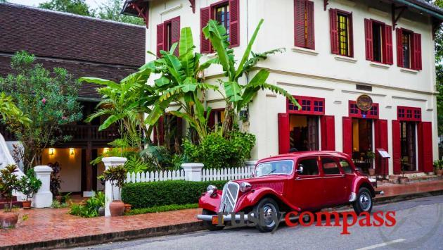 The irresistable cliched Luang Prabang shot