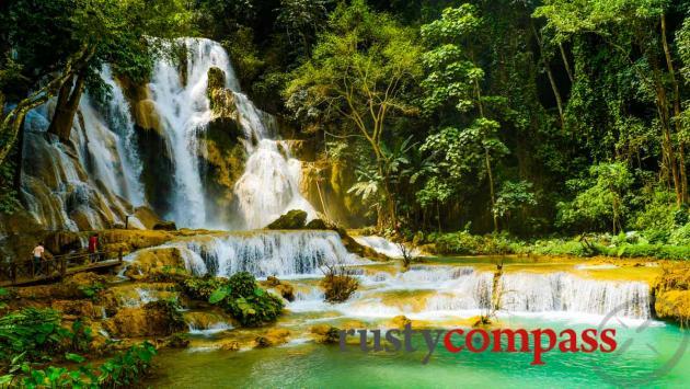 Kuang Si Falls, outside Luang Prabang, Laos