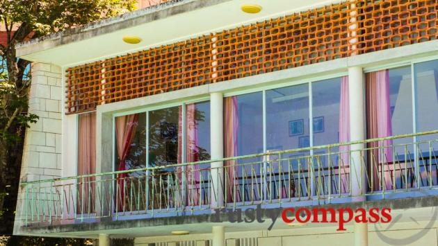 Madam Nhu's amazing modernist residence, Dalat