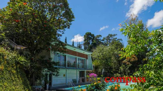 Madam Nhu's modernist residence, Dalat