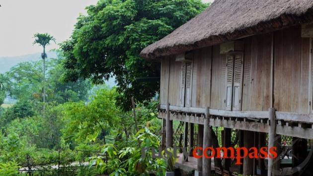 Typical stilt house, Mai Chau