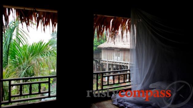 Typical stilt house - Mai Chau