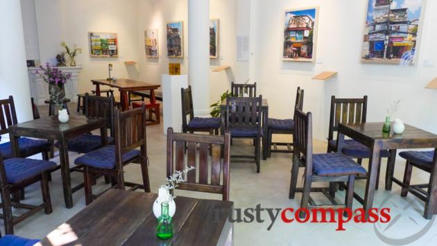 Manzi Cafe Art Space, Hanoi