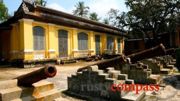 Hue Museum, war exhibit