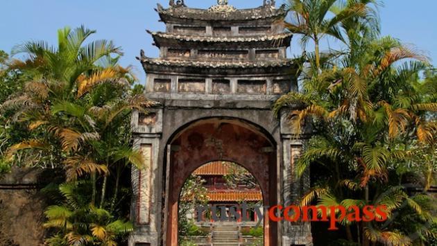 Minh Mang's Tomb, Hue