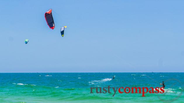 Kitesurfing, Mui Ne