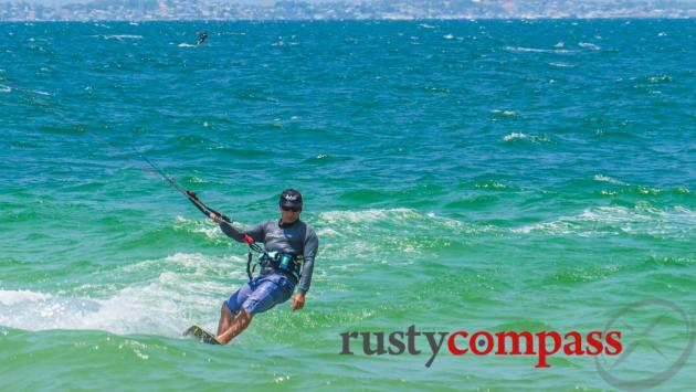 Mui Ne, Vietnam's kitesurfing capital and one of the best kitesurfing spots in South East Asia.