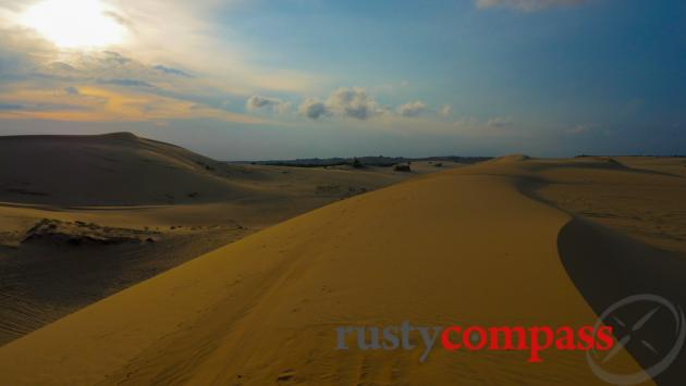 White Sand Dunes - 45kms north of Mui Ne.