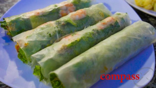 Fresh seafood, Mui Ne
