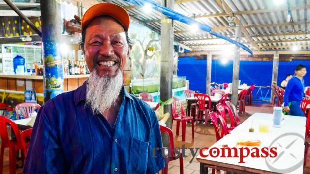 Mr Hieu owns a fantastic little seafood spot on the