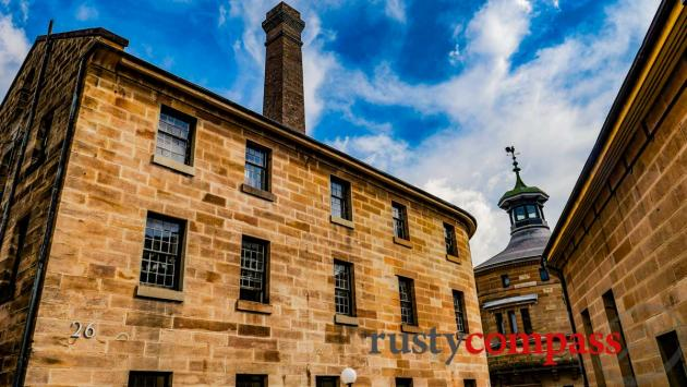 The old Darlinghurst Gaol is the National Art School.