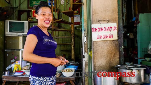 Banh canh stall, Nha Trang