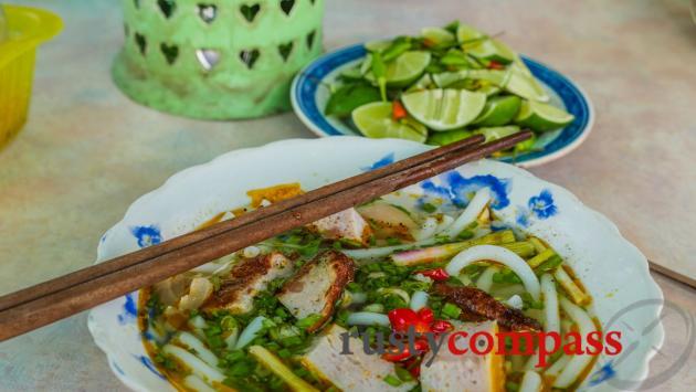 Banh canh cha ca, Nha Trang - local delight