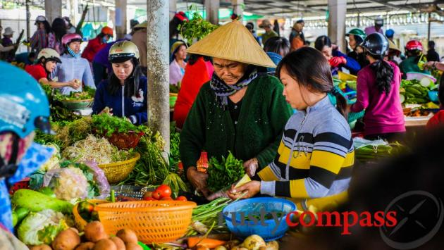 Local market outside Nha Trang