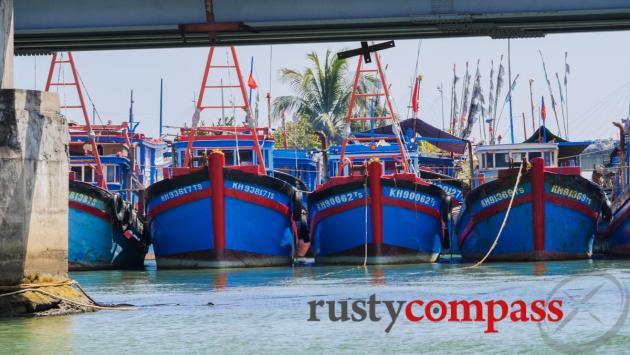 Nha Trang fishing boats