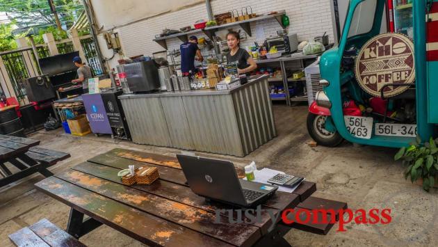 Cool cafes, Nha Trang