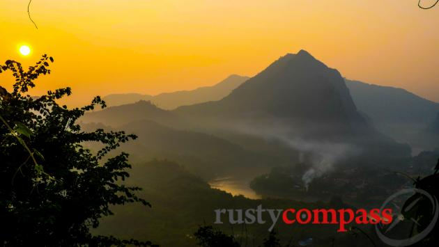 Nong Khiaw viewpoint, Laos